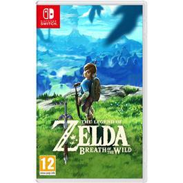 Nintendo LEGEND OF ZELDA BREATH SW