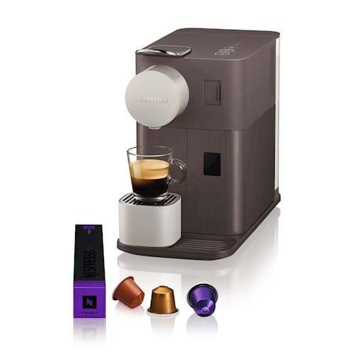 Nespresso DeLonghi koffieapparaat Lattissima One EN500 (Bruin)