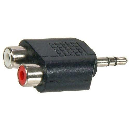Temium audio accessoire Adapter 2x RCA 35mm
