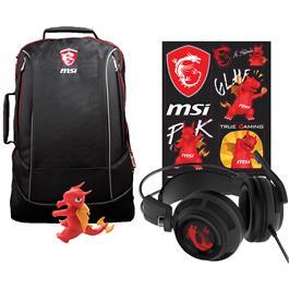 Msi Laptoptas + Gaming Headset Y17 Dragon Fever Summer Bundel Gt