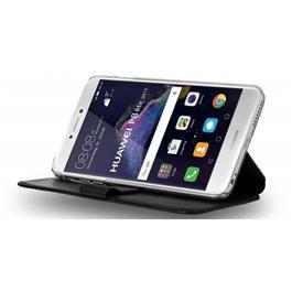 Azuri wallet case with backcover zwart Huawei P8 Lite