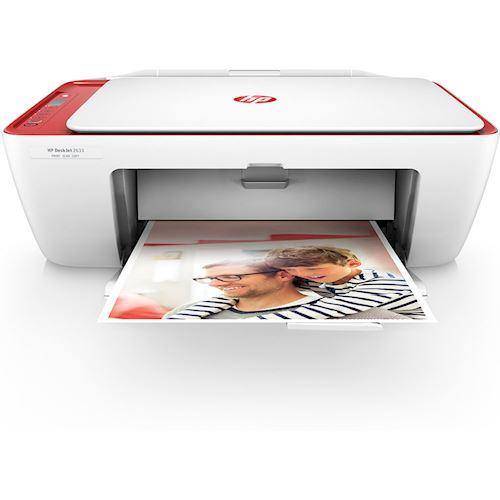 HP DeskJet 2633 AiO 4800 x 1200DPI Thermische inkjet A4 7.5ppm Wi-Fi Rood, Wit multifunctional