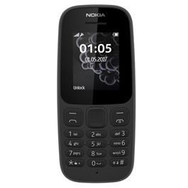 Nokia mobiele telefoon 105 + Lebara-prepaid (Zwart) kopen