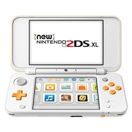 Nintendo New 2DS XL Wit Oranje
