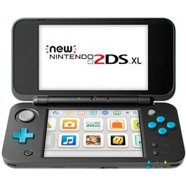 Nintendo New 2DS XL Zwart Turquoise