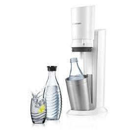 SodaStream soda maker + 2 karaffen Crystal (Wit)
