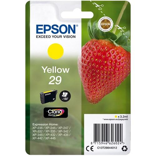 Epson cartridge AARDBEI GEEL T2984