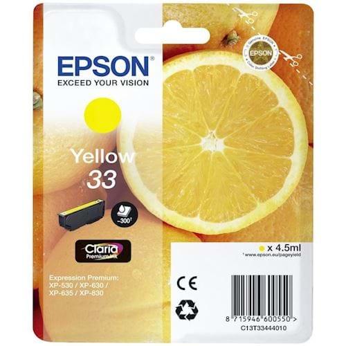 Epson cartridge SINAASAPPEL GEEL T3344