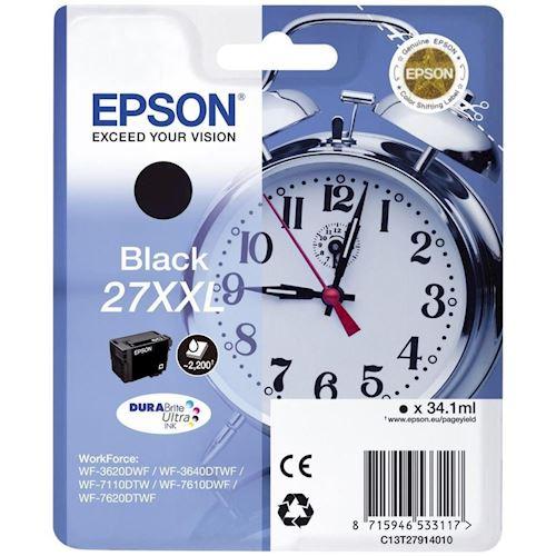 Epson cartridge Alarmklok-serie TL2791 XXL (zwart)