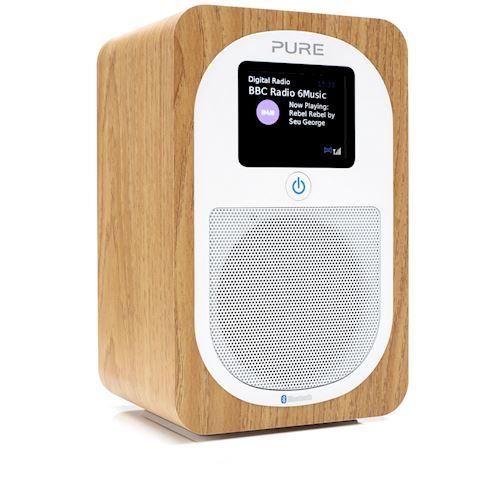 Pure draagbare radio Evoke H3 (Oak)