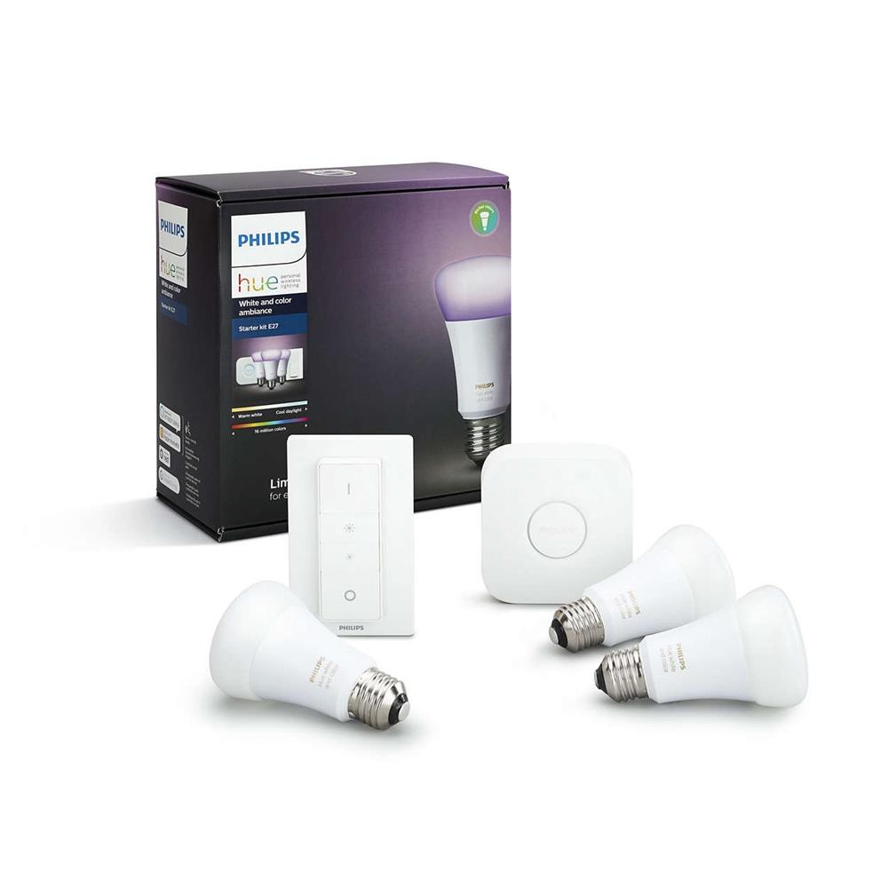 Philips hue sfeerverlichting W&C AMB STARTER E27