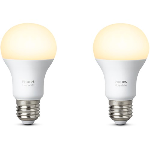 Philips Hue sfeerverlichting White E27 Duopak