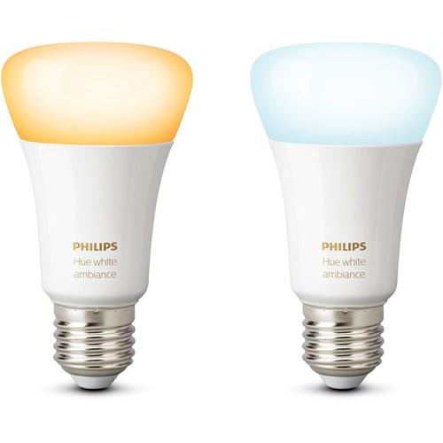 Philips Hue sfeerverlichting White Ambiance E27 Duopak