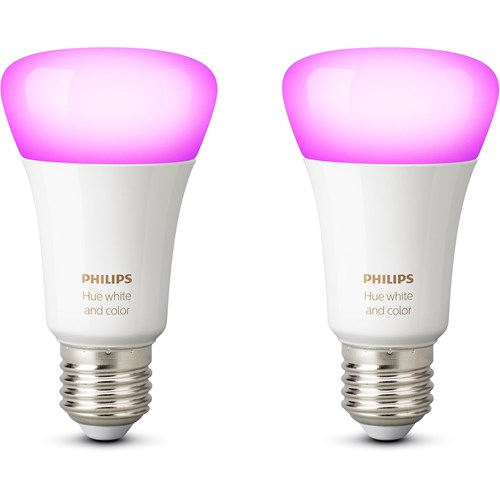 Philips Hue sfeerverlichting White & Color Ambiance E27 Duopak