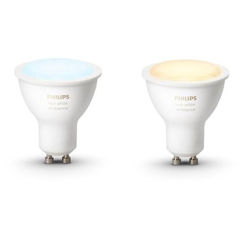 Philips Hue sfeerverlichting White Ambiance GU10 Duopak