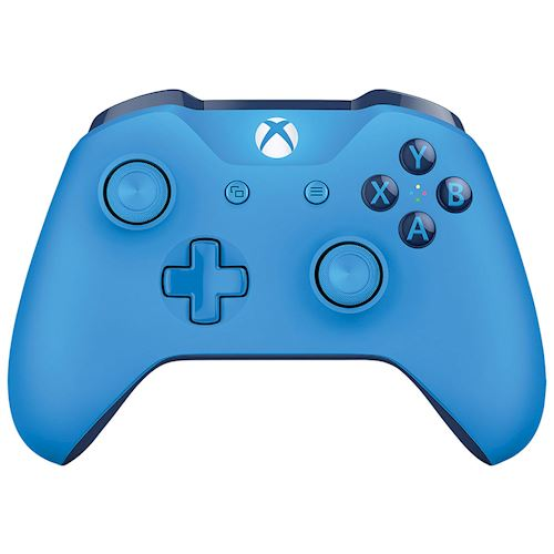 Xbox One Blue draadloze controller Blauw