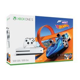 Microsoft Xbox One S Forza Horizon 3 Hot Wheels Bundle 500GB 500GB Wi-Fi Wit