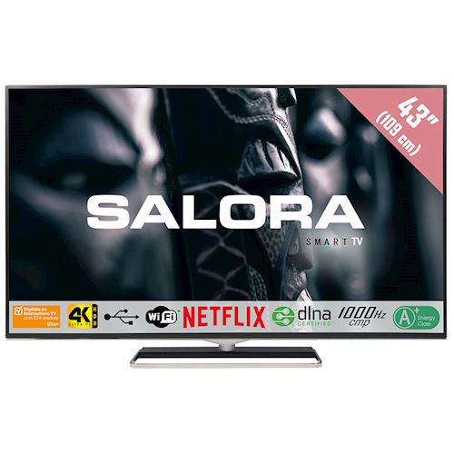 Salora 4K Ultra HD TV 43UHX4500