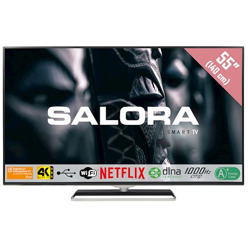 Salora 4K Ultra HD TV 55UHX4500