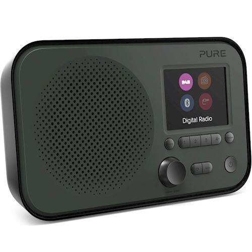 Pure draagbare radio Elan BT3 (Zwart)