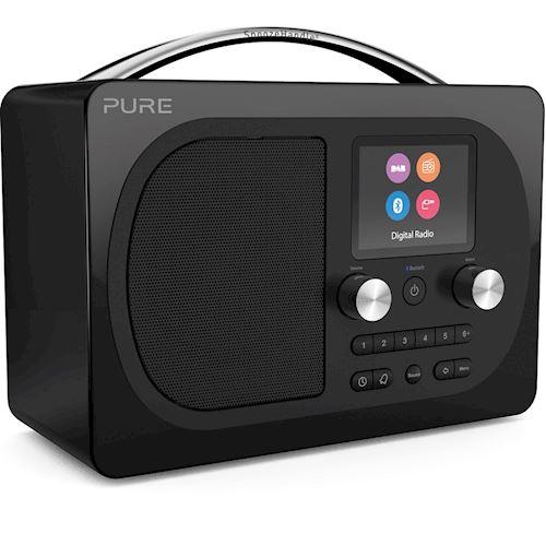 Pure draagbare radio Evoke H4 Prestige Zwart