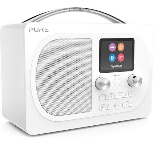 Pure draagbare radio Evoke H4 Prestige (Wit)
