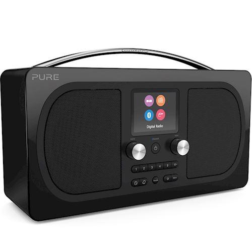 Pure draagbare radio Evoke H6 Prestige (Zwart)