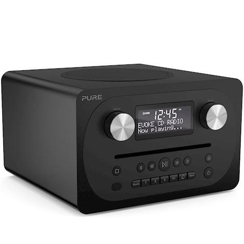 Pure draagbare radio Evoke C-D4 (Zwart)