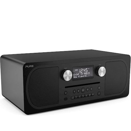 Pure draagbare radio Evoke C-D6 (Zwart)