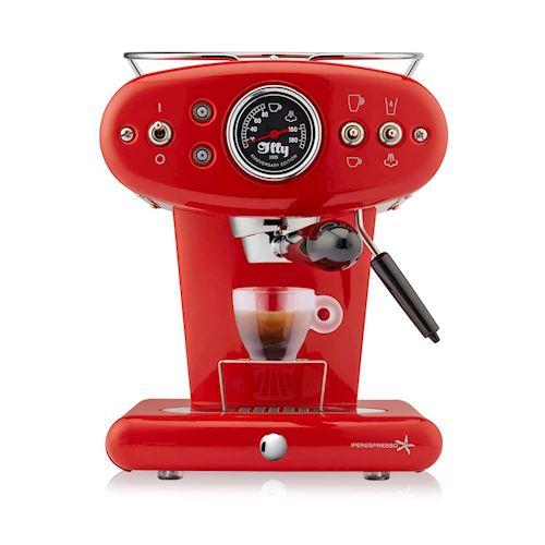 illy espressomachine X1 Anniversary Espresso  en  Coffee (Rood) - Prijsvergelijk
