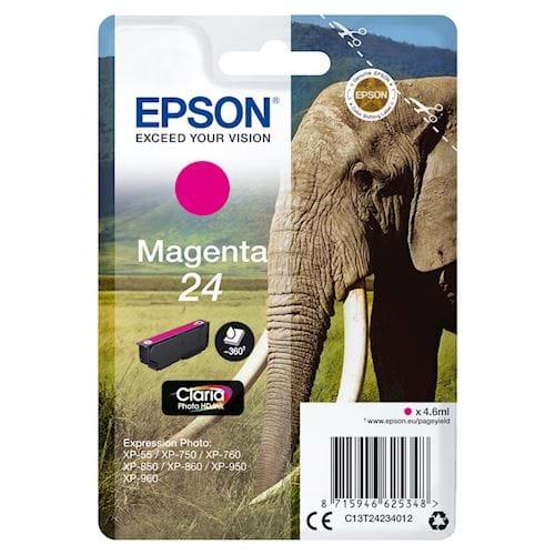 Epson cartridge 24 Claria Photo HD Ink Magenta