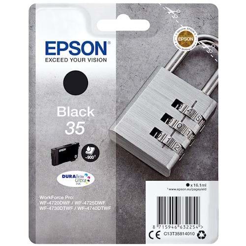 Epson cartridge 35 DURABrite Ultra Ink Zwart