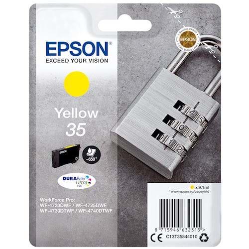 Epson cartridge 35 DURABrite Ultra Ink Geel