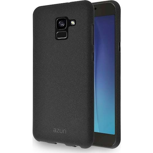 Azuri telefoonhoesje Samsung Galaxy A8 Flexible Sand (Zwart)
