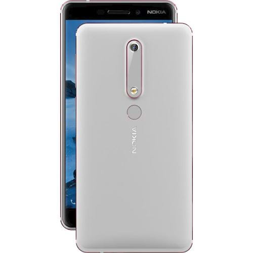Nokia 6 New smartphone (Wit)