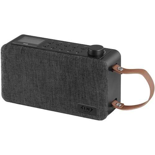 Tiny Audio draagbare radio Joy Zwart