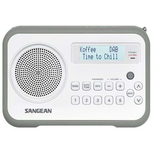 Sangean DAB radio DPR-67 (Grijs)