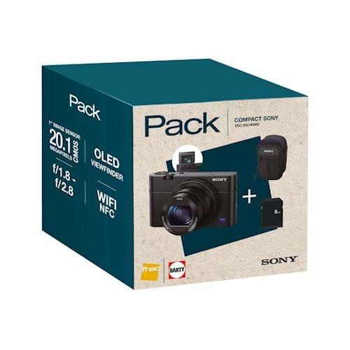 Sony compact camera DSC-RX100 MIII INCL. GRATIS TAS EN 8GB