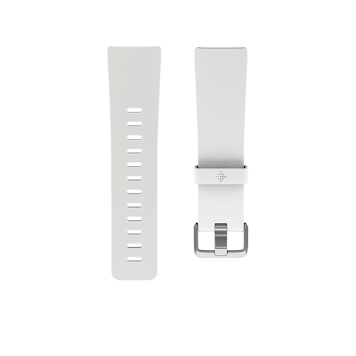 Fitbit Versa Classic polsband maat Large Wit