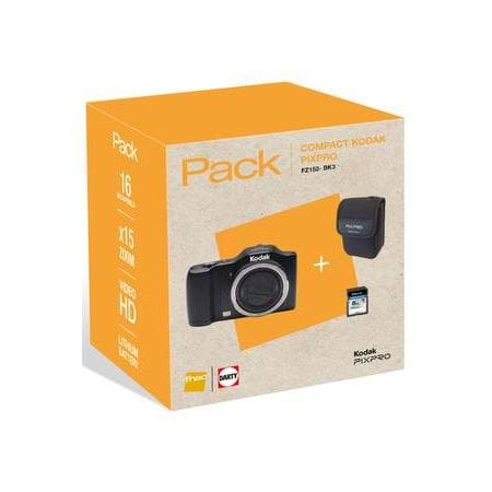 Kodak compact camera FZ152 SD8 GO ETUI PACK