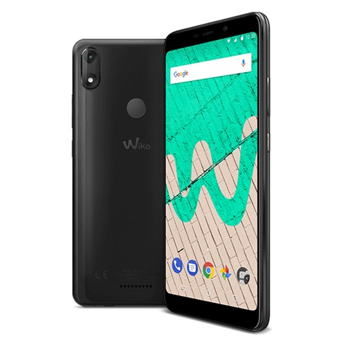 Wiko smartphone View Max (Antraciet)