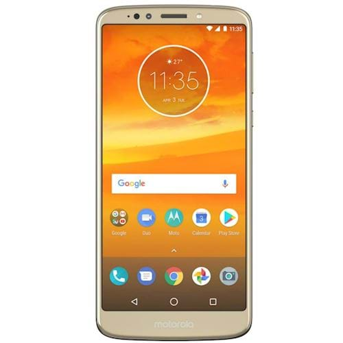 Motorola smartphone Moto E5 Plus (Goud)