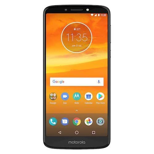 Motorola smartphone Moto E5 Plus Grijs