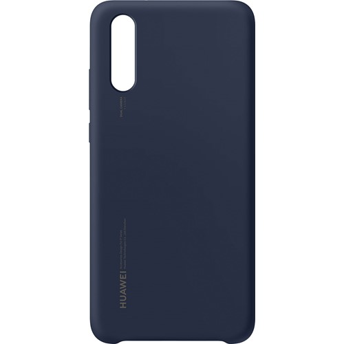 Huawei telefoonhoesje Silicone Cover voor Huawei P20 Blauw