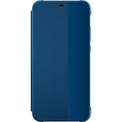 Huawei telefoonhoesje Flip Cover voor Huawei P20 Lite Blauw