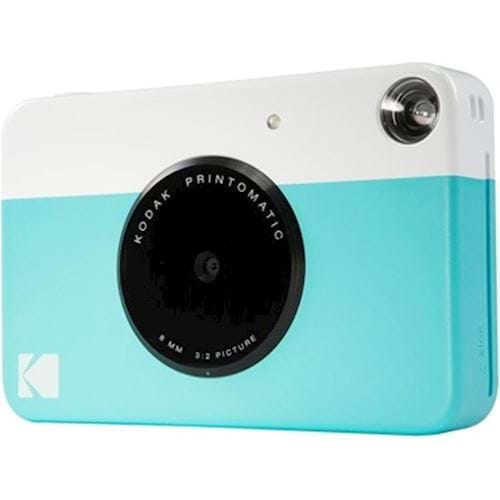 Kodak compact camera PRINTOMATIC BLUE INCL ZINK PAPER VOOR 20 FOTO apos;S