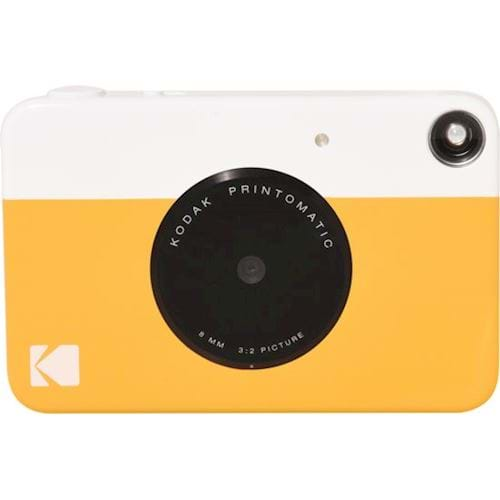 Kodak compact camera PRINTOMATIC YELLOW INCL ZINK PAPER VOOR 20 FOTO apos;S