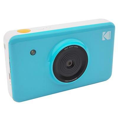 Kodak compact camera MINISHOT BLUE INCL DYESUB CARTRIDGE VOOR 20 FOTO'S