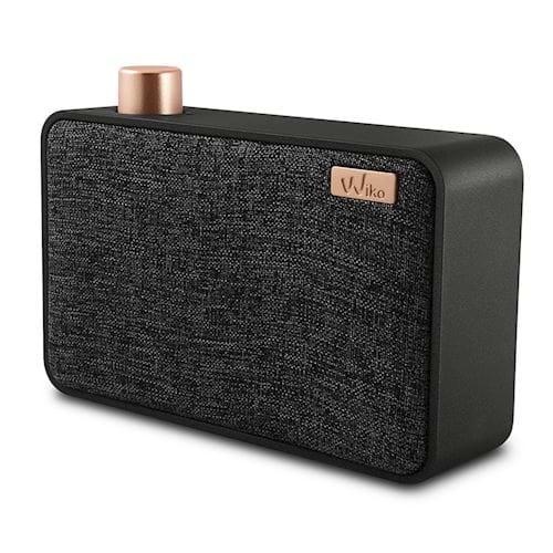 Wiko portable speaker WiShake (Zwart/Grijs)