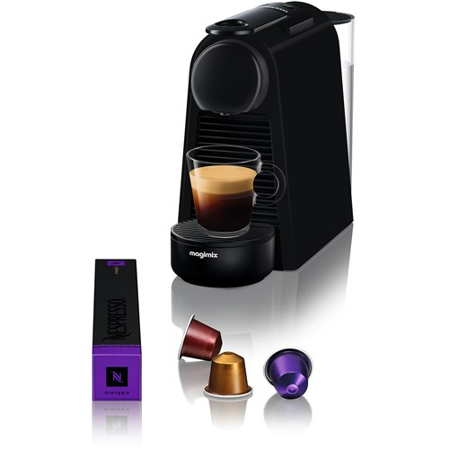 Nespresso Magimix Essenza Mini Limited Edition Mat Zwart